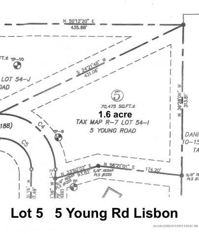 Lot 5 Young Road Lisbon ME 04250