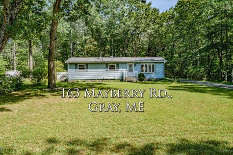 163 Mayberry rd Road Gray ME 04039