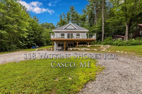 118 Watkins Shores Road Casco ME 04015