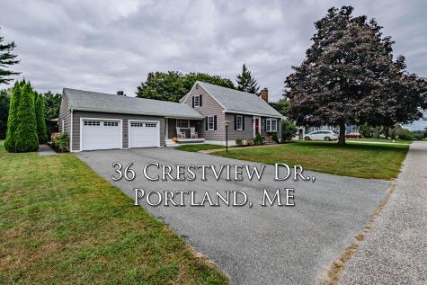36 Crestview Drive Portland ME 04103