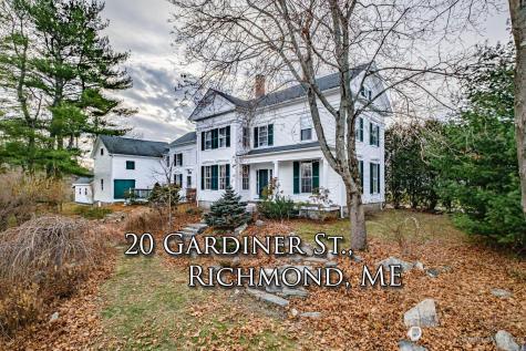 20 Gardiner Street Richmond ME 04357
