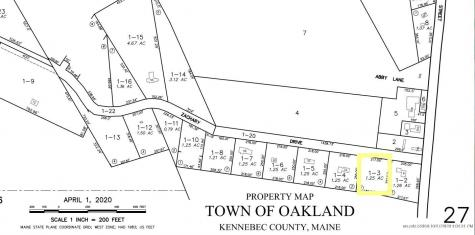 Lot 3 Zachary Drive Oakland ME 04963