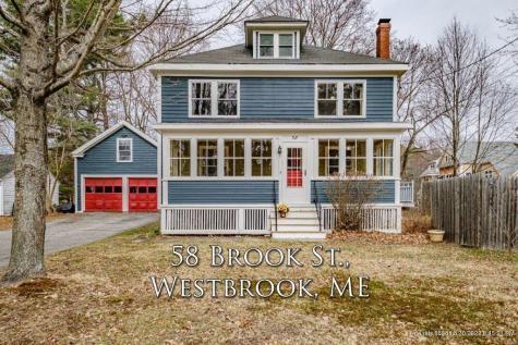 58 Brook Street Westbrook ME 04092